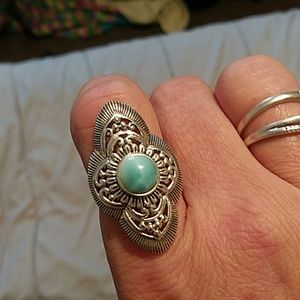 Sterling silver ring